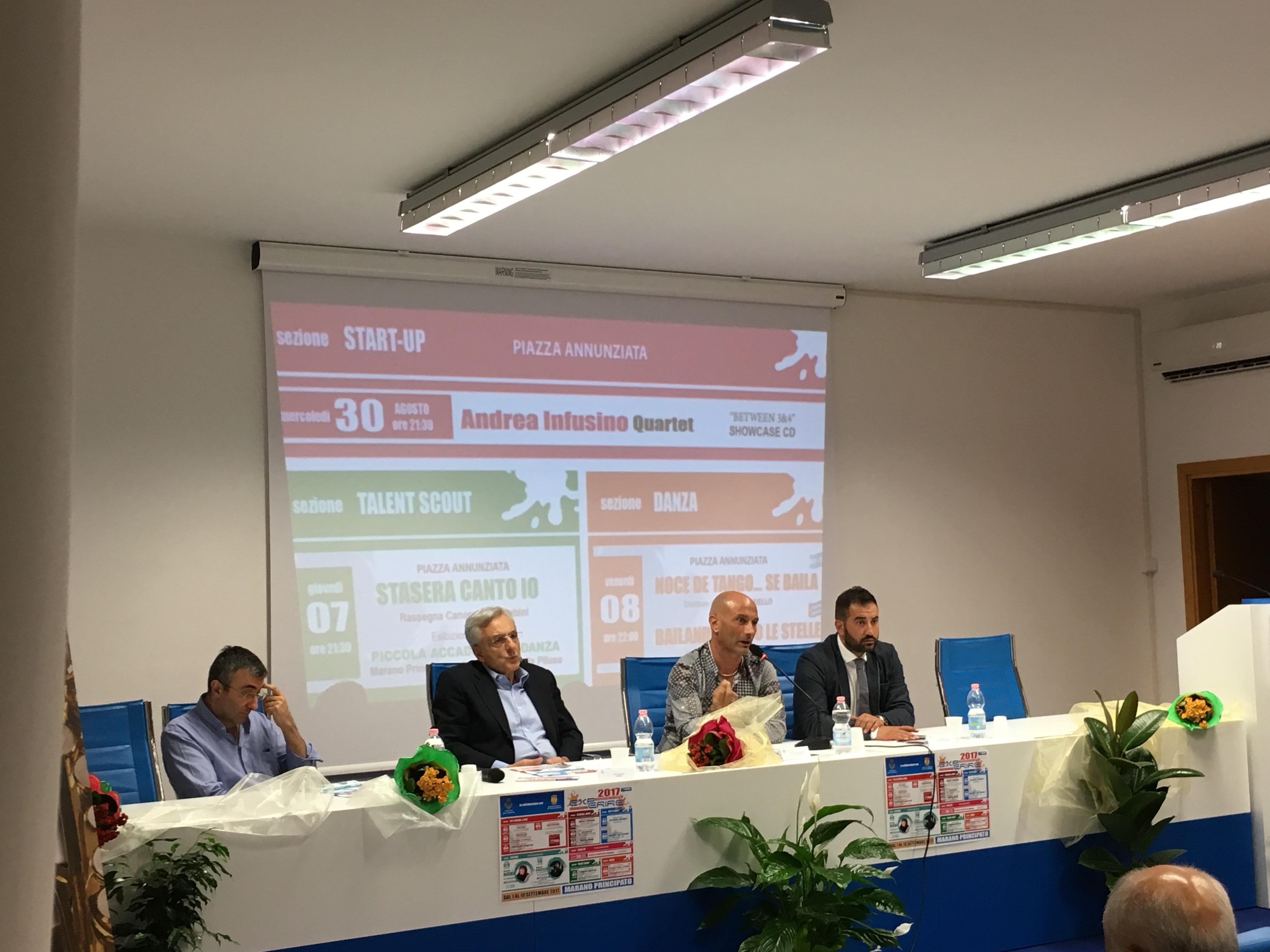 Presentazione CD Andrea Infusino Group all'Experire di Marano