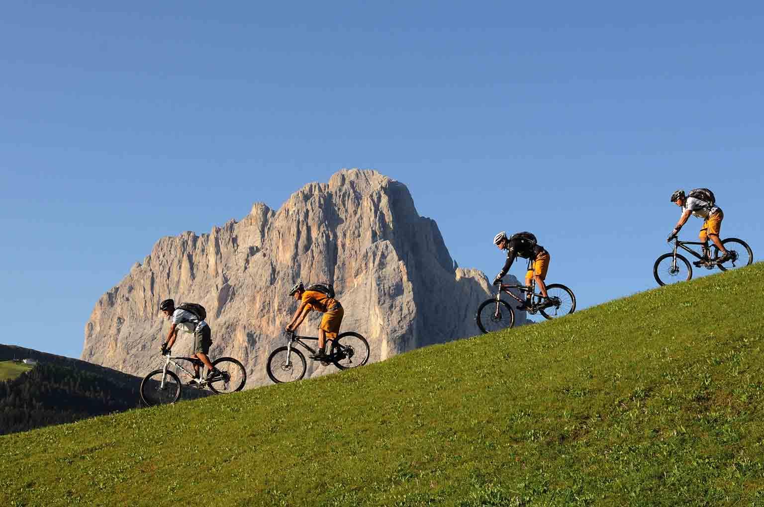 Val Gardena in bicicletta