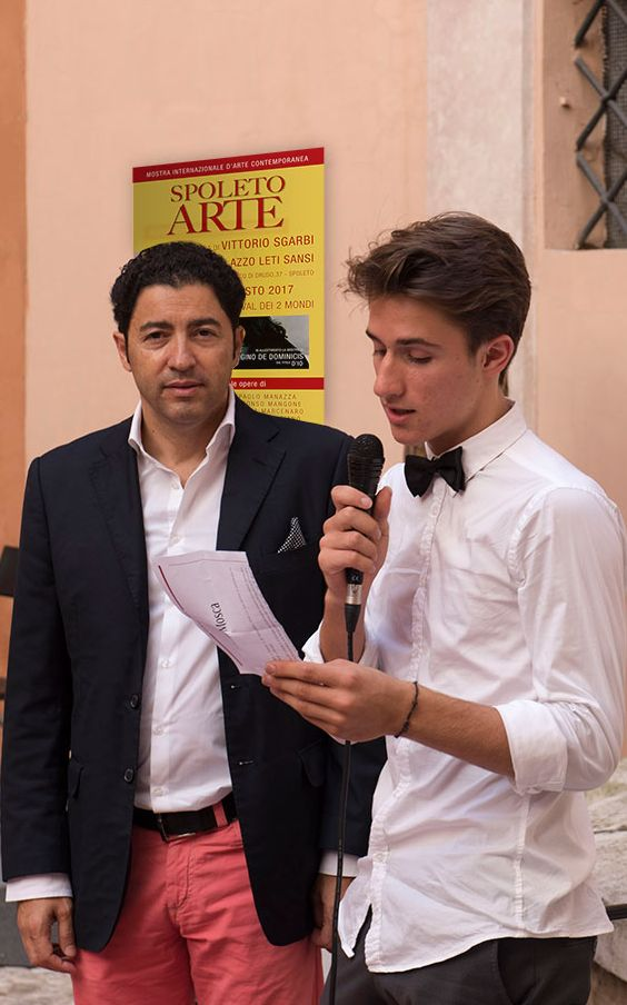 Spoleto Arte, a cura di Vittorio Sgarbi: intervista al giovane chitarrista Aleksandar Franchini