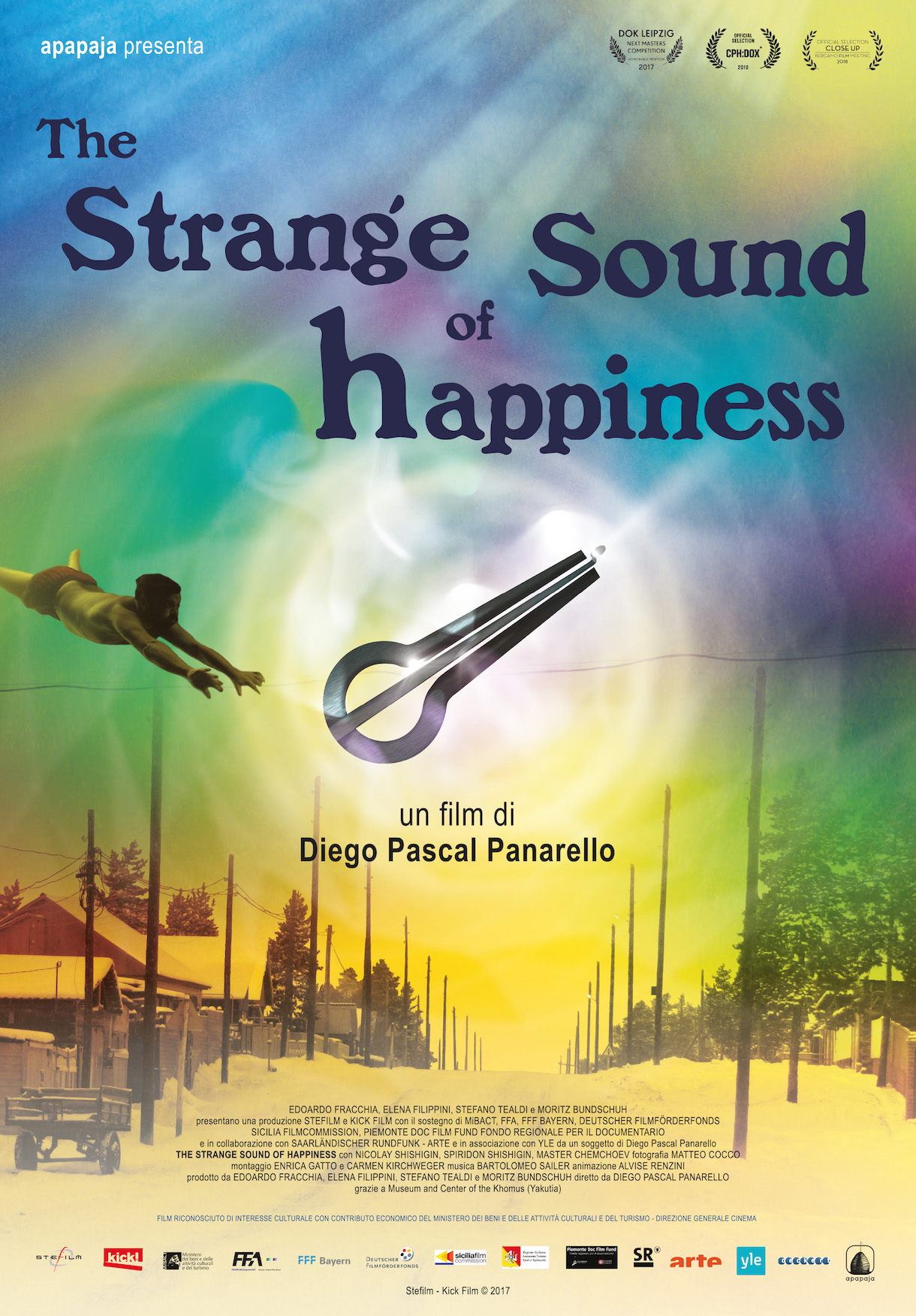 "A Cesena, Cinema Eliseo ""The Strange Sound of Happiness"", il film documentario di Diego Pascal Panarello"