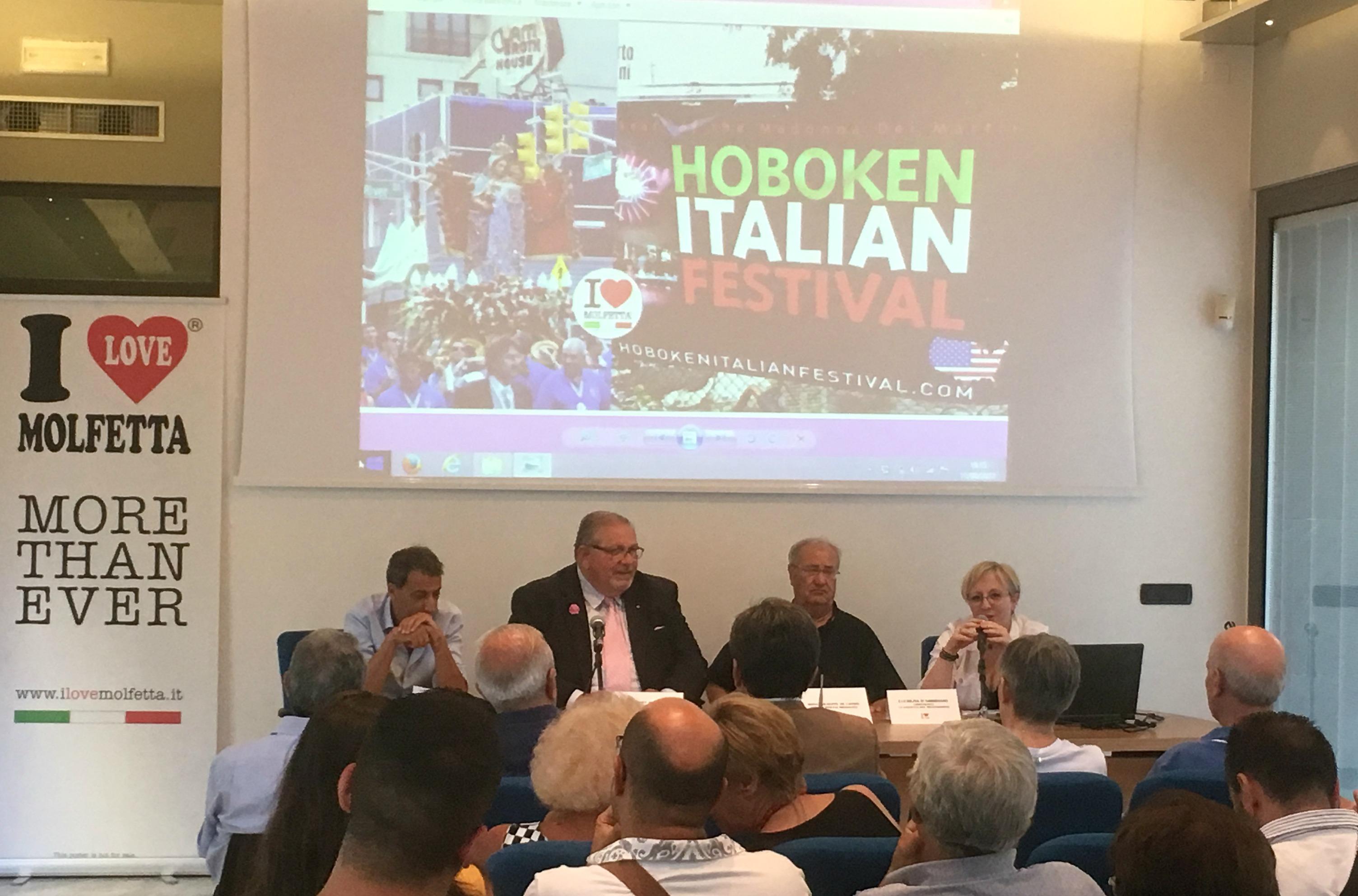 Evento italiano oltreoceano: i Vigili da Molfetta ad Hoboken negli USA