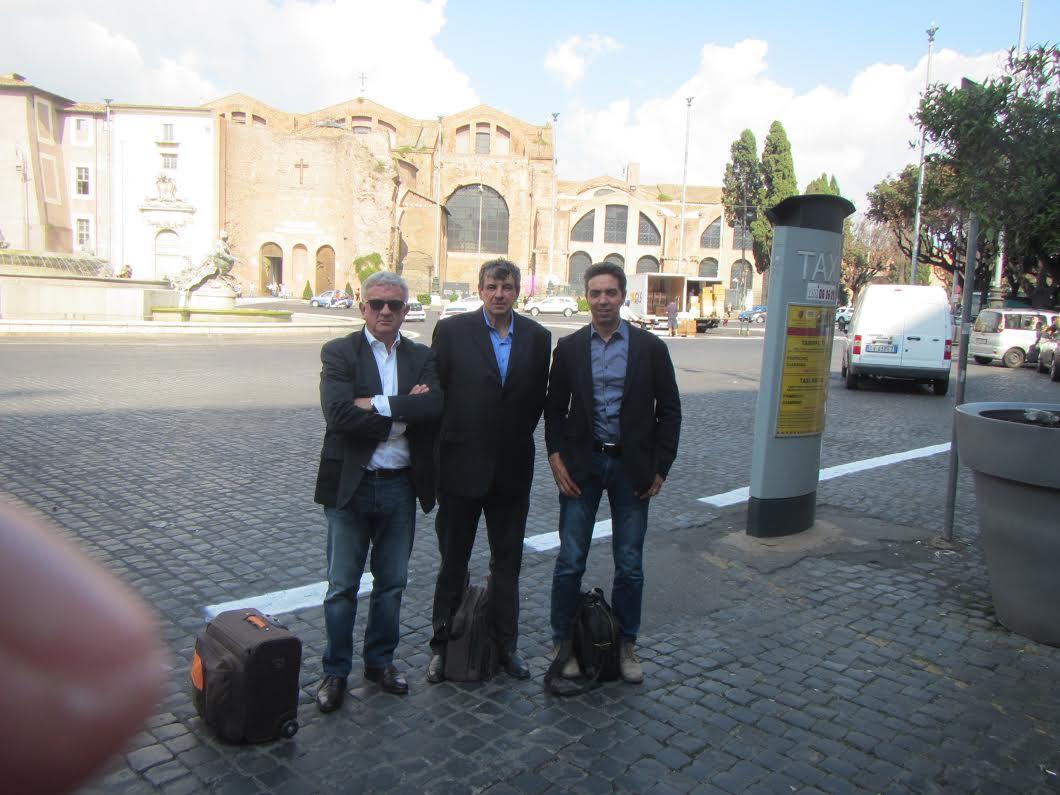 Incontro a Roma il 28/09 del Vice Ministro Ministero dei Trasporti Riccardo Nencini e la delegazione di Transdolomites, con all'ordine del giorno il completamento dell'Anello Ferroviario delle Dolomiti