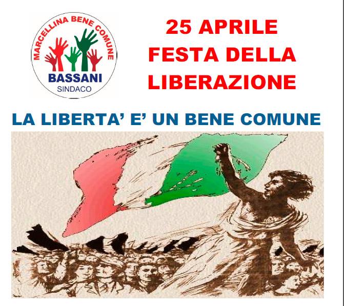 """Marcellina Bene Comune"" in ricordo del 25 Aprile"