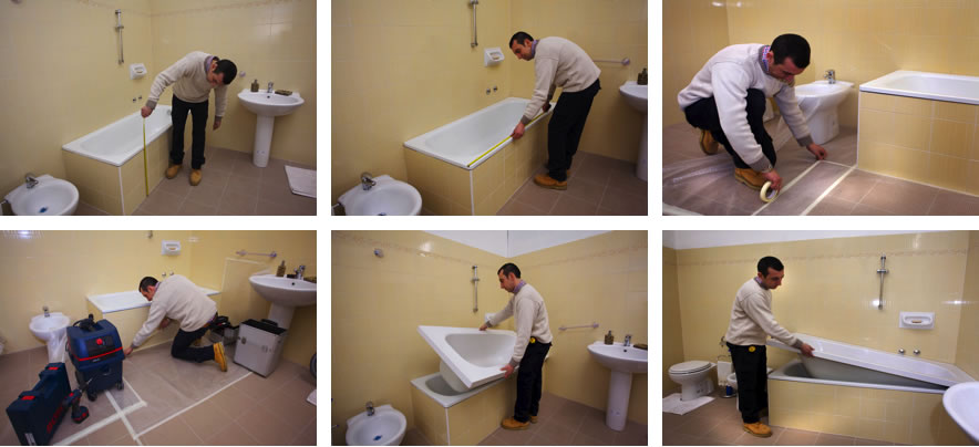 Rinnova il tuo bagno con il sistema vasca nella vasca - Syntilor rinnova tutto bagno ...