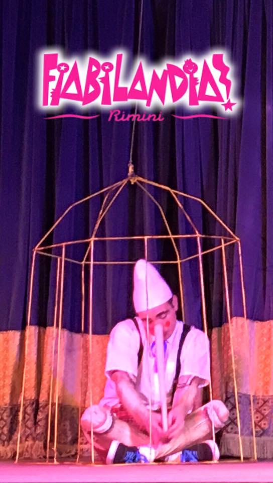 Pinocchio: uno spettacolo per bambini a Fiabilandia