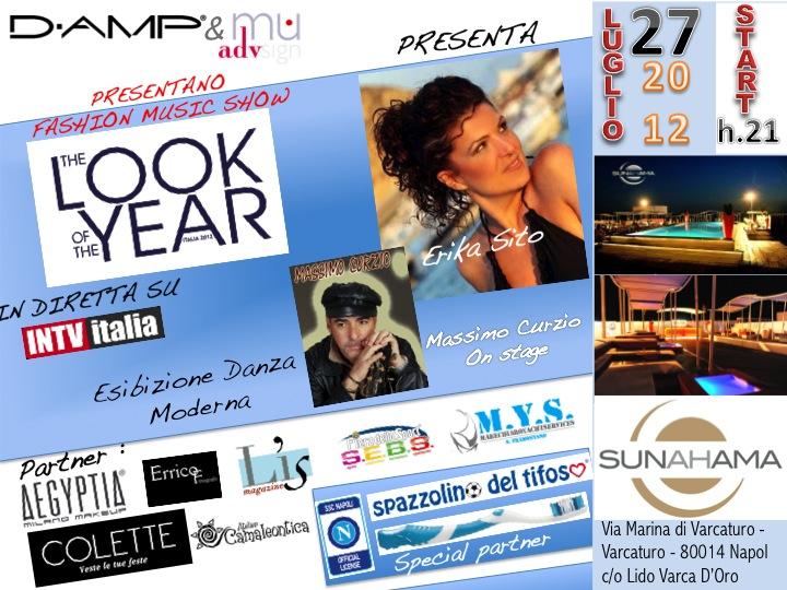 """Finale regionale di """"The Look of the year Italia 2012"""" il 27 luglio a Varcaturo"""