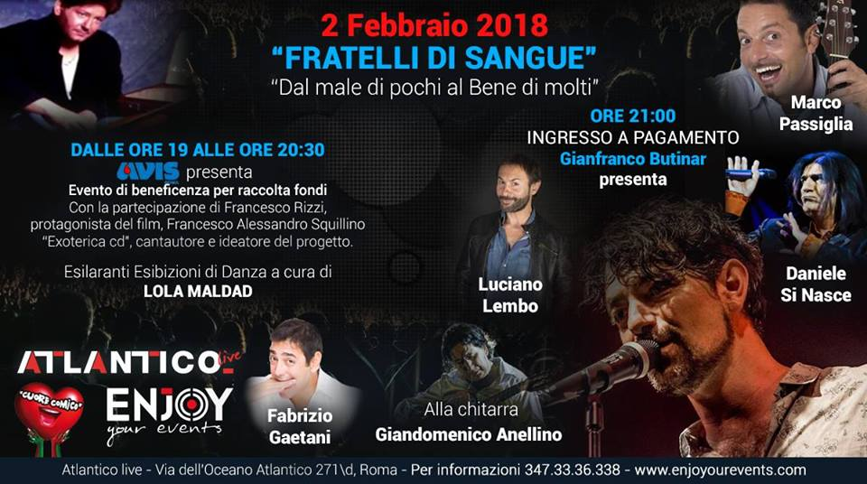 "La Enjoy Your Events presenta ""Fratelli di sangue"""