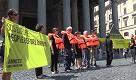 Roma, Sos Europa: flashmob di Amnesty per i migranti - La Repubblica