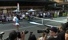 Federer, Agassi, Sampras: a New York i re del tennis giocano in strada - La Repubblica