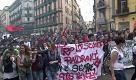 Napoli, tre cortei paralizzano la città - La Repubblica