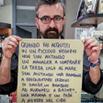 Novara: Col mio cartello per il piccolo commercio ho 'conquistato' il web