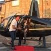 Nicotera, il paese è chiuso per matrimonio: gli sposi atterrano in centro in elicottero